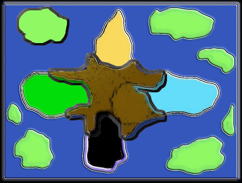Taia - Rückkehr der Götter Worldmap